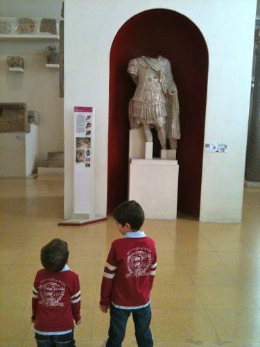 Arqueología para niños en Tarragona o una mañana en el museo