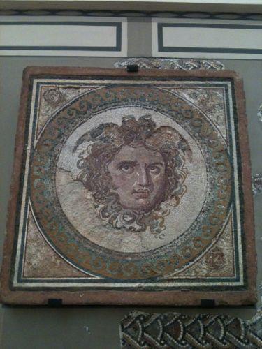 mosaico en el museo arqueológico de tarragona
