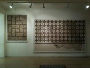 mosaicos en el museo arqueológico de tarragona