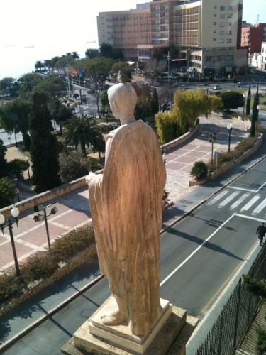 vistas de tarragona desde el museo