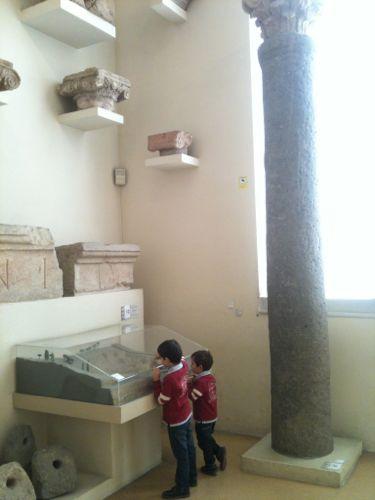 explorando el museo