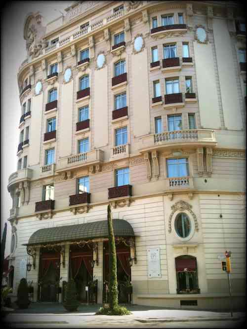 Fachada hotel Palace Barcelona
