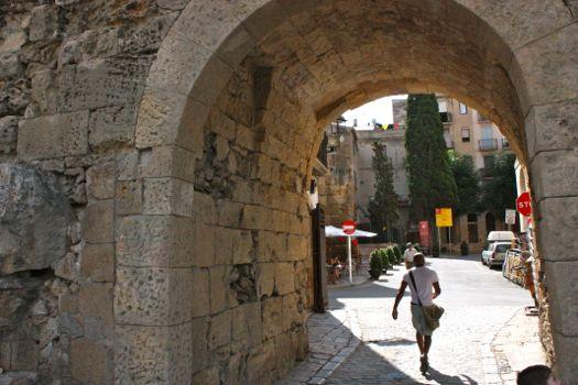 tarragona entrada parte antigua