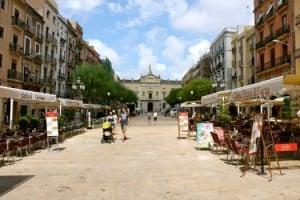tarragona plaza ayuntamiento