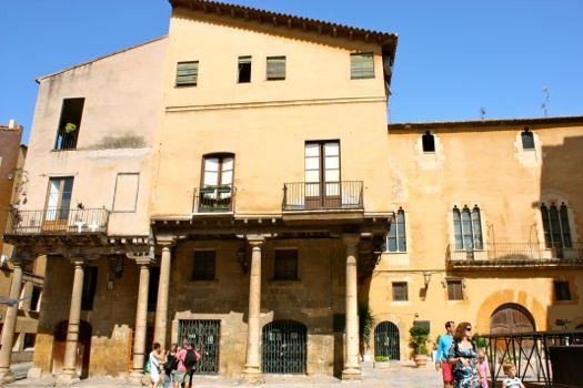 plaza de la catedral de Tarragona
