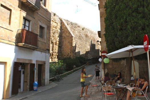 tarragona terrazas entre murallas