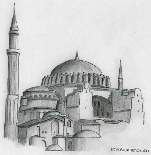 Estambul. Dibujos entre oriente y occidente