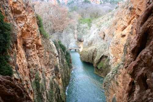 Visita al parque natural Monasterio de Piedra