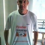 camiseta finisher ironman