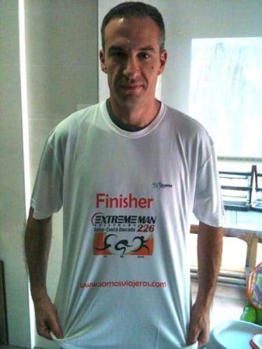 camiseta finisher ironman