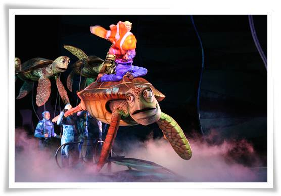 Espectáculo Buscando a Nemo