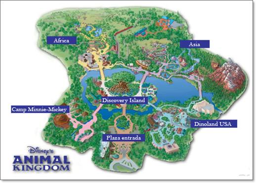 Plano Disney Animal Kingdom
