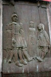 Monumento en Lieja a Tchanches