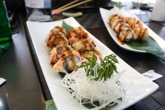 sushi hotel hospes alicante