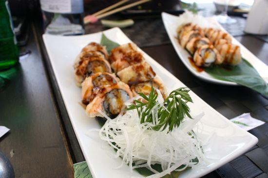 sushi hotel hospes alicante