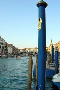 momentos venecia. atardecer en el gran canal