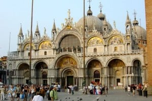 momentos venecianos atardecer en catedral san barcos
