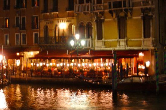 terrazas en el gran canal