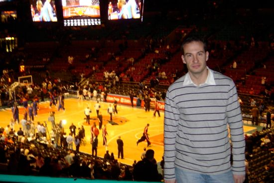 en el madison square garden