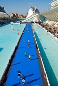 llegada maratón de valencia
