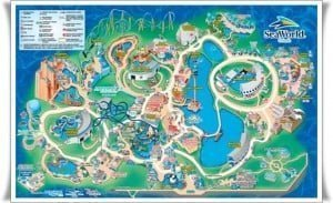 Mapa Sea World