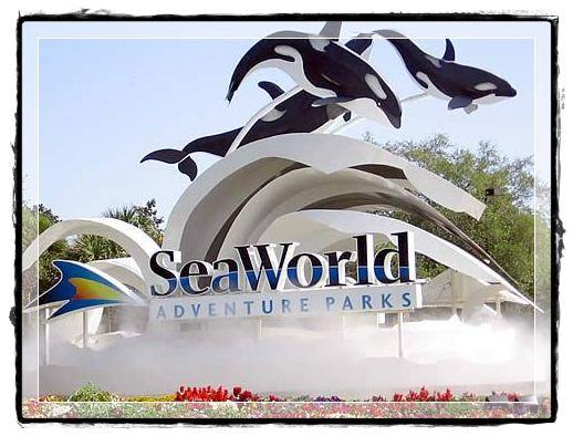 Entrada Sea World Orlando