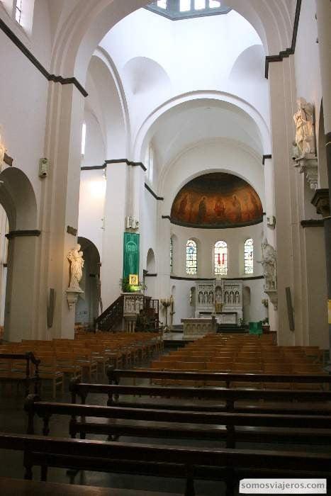 Iglesia Saint Remacle en Spa Valonia