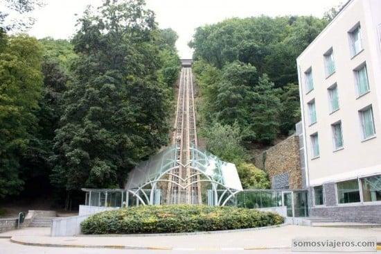 Hotel Radisson y funicular
