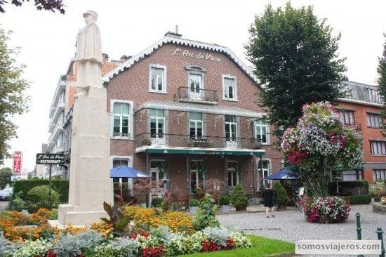 Restaurante L'ar de Vivre en Spa - Valonia