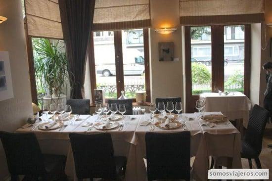 Interior restaurante L'art de Vivre