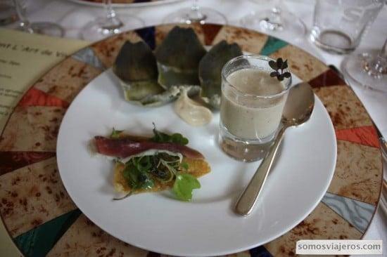 plato restaurante l'Art de Vivre