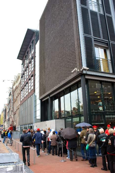 Entrada casa museo Anna Frank