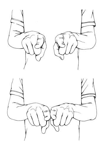 gestos estás liados