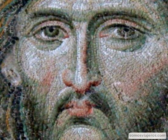 en arte de la tesela en mosaicos de sant sofia en estambul