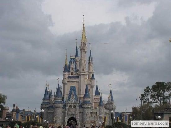 Castillo de Cenicienta de Disneyworld Orlando
