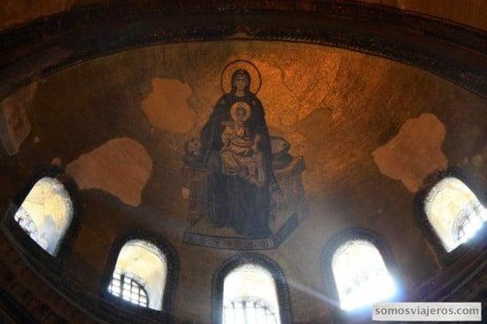 mosaicos de santa sofia