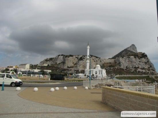 Vista desde el Faro de Gibraltar en la parte Sur