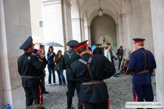 cantores del ejército en Salzburgo