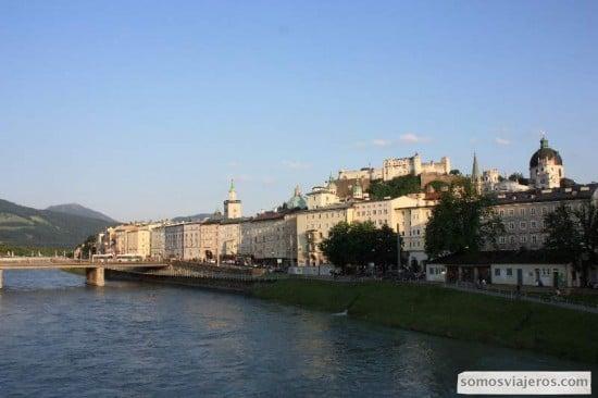 Vista de Salzburgo