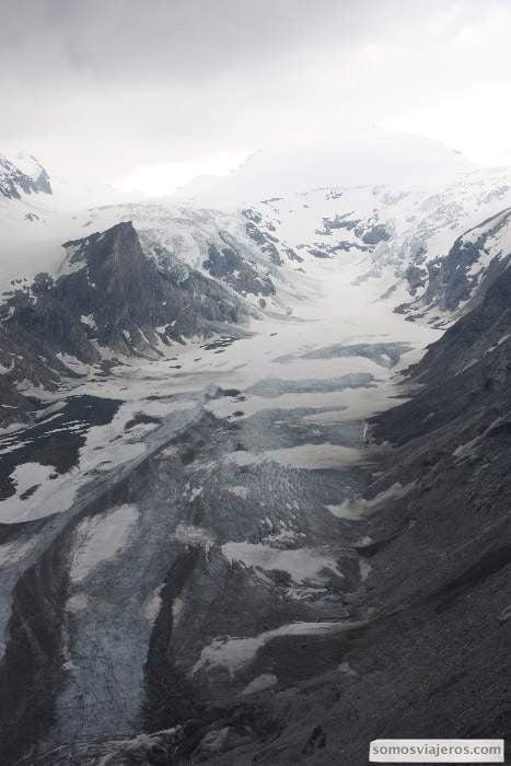 Glaciar en Austria