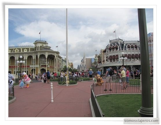 Main Street en Magic Kingdom Disney World Orlando
