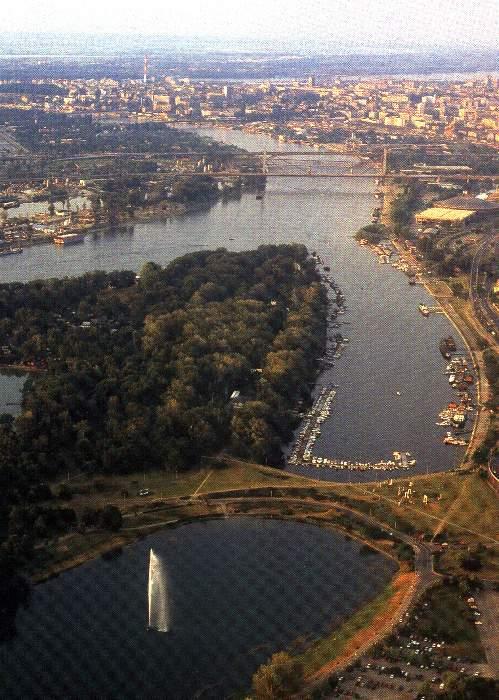 Vista de Belgrado