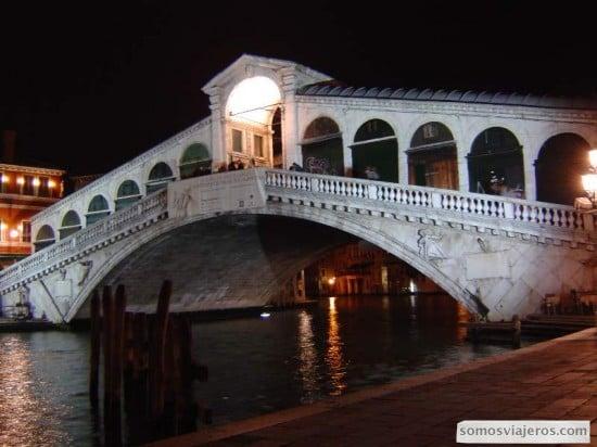Ponte de Rialto de Venecia