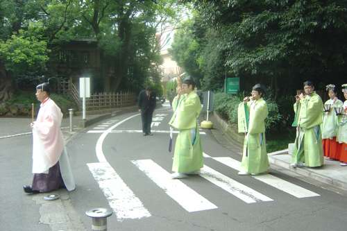 Bodas japonesas en Tokio
