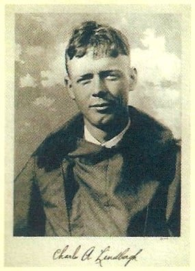 foto de Charles Lindbergh