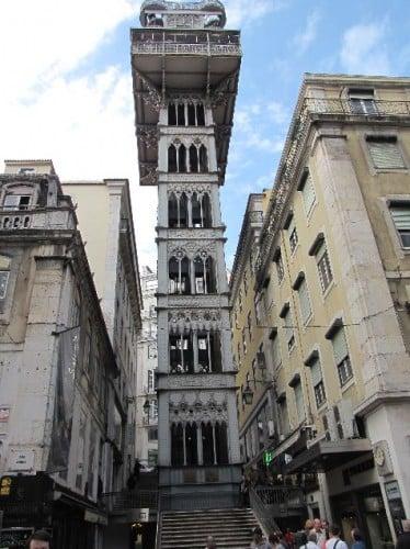 Mirador de Santa Justa, Lisboa