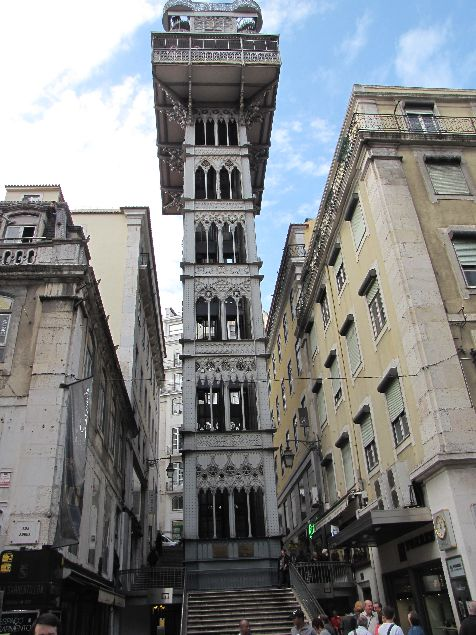 Elevador de Santa Justa, Lisboa