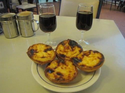 Dulces típicos Pastéis de Belém