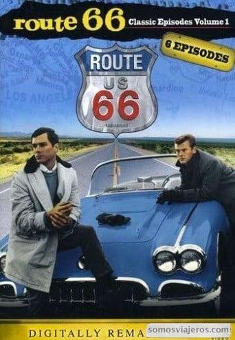 Carátula de la serie de televisión Ruta 66 famosa en los años 60 en Estados Unidos