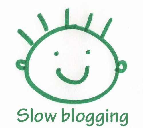 Slow blogging como filosofía bloguera para el 2013
